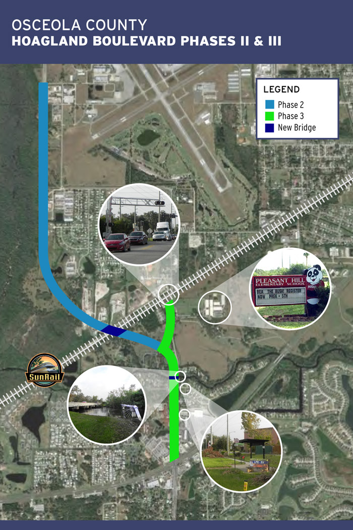 Hoagland Boulevard Marketing Board - Map