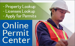 New Online Permit Center