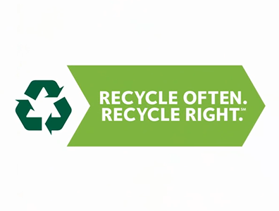 Recycle Often. Recycle Right