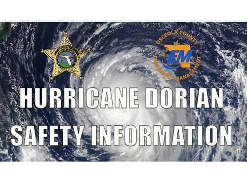 Hurricane Safety Information - Use caution in flooded areas