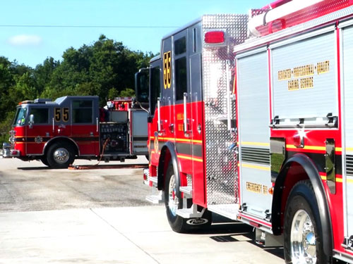 Osceola News Brief - Station 55 Wetdown and Pushback Ceremony