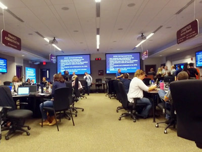News Brief - Hurricane Training Exercise at the Emergency Operations Center