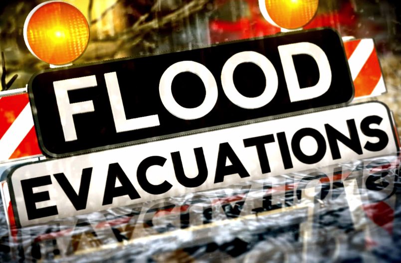 Interactive Flood Map and Evacuation Tips