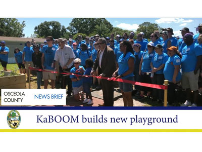 News Brief - KaBOOM Tropical Park Playground Build