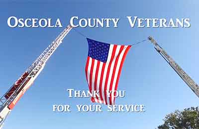 Osceola County Employee Veterans Celebration Day 2018