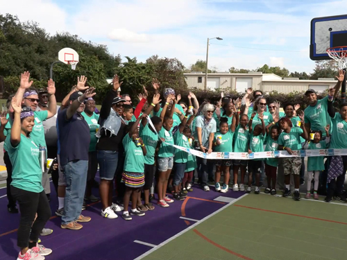 What's Up Osceola? Kaboom and Community Build Sports Courts