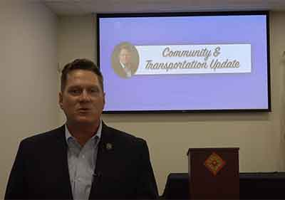 Commissioner Arrington Community & Transportation Update Recap