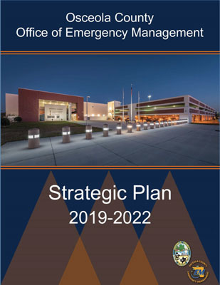 Cover of the 2019-2022 Emergency Management Strategic Plan