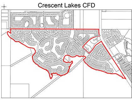 Crescent Lakes CFD Boundary Map